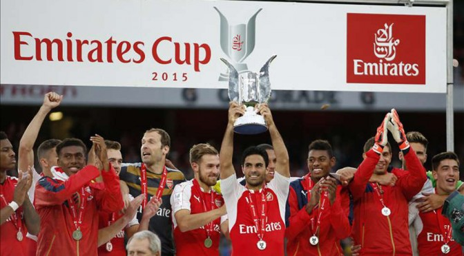 Arsenal's summer of meaningless trophies means Community Shield victory must be nailed on