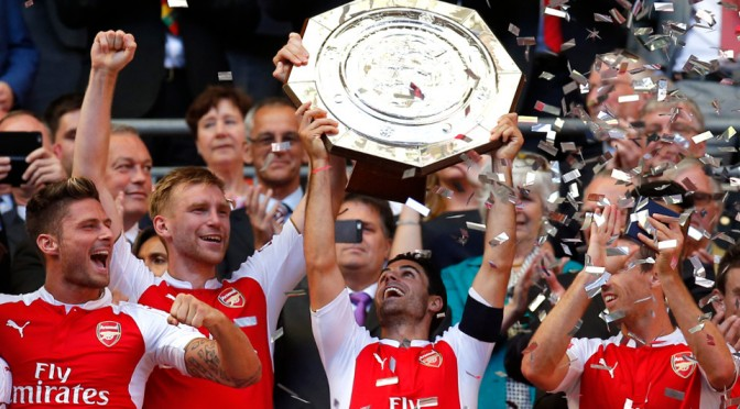 Why winning the Community Shield means Arsenal won't lift the Premier League
