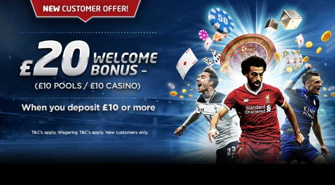 New Pools & Casino Customer Offer