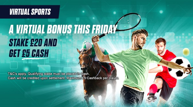 A Virtual Bonus This Friday!
